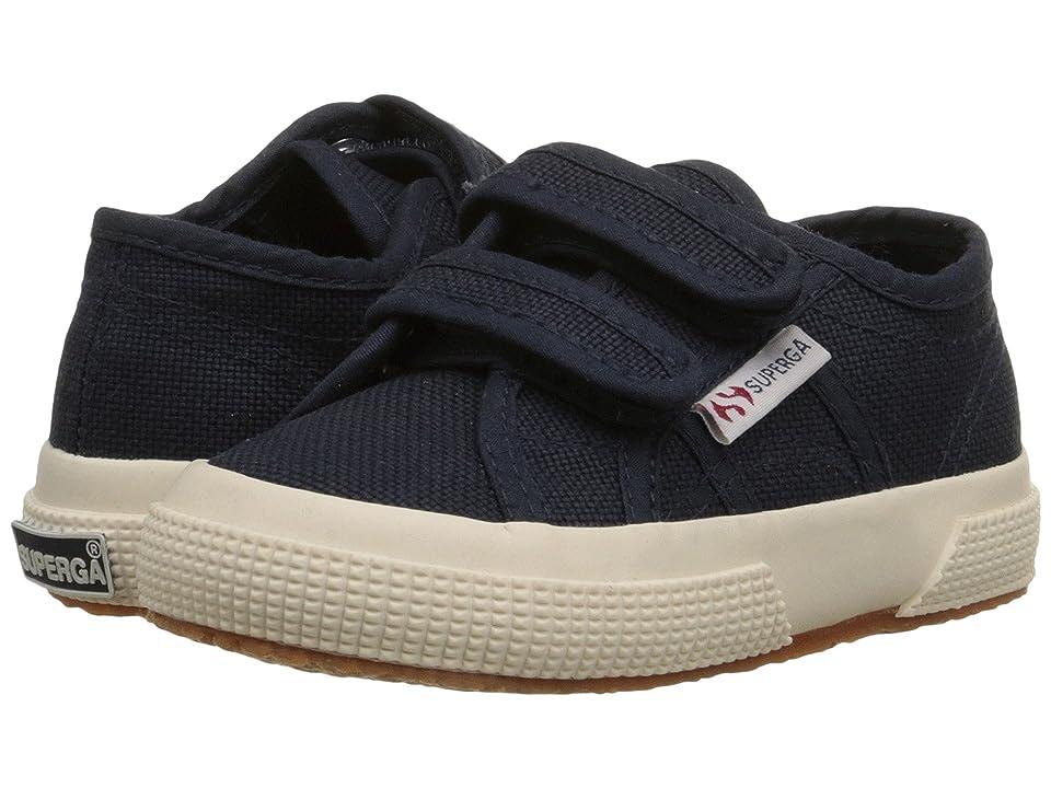 Superga Kids 2750 JVEL Classic (Toddler/Little Kid) (Navy) Kids Shoes