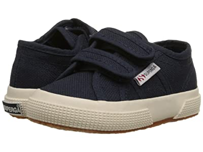 Superga Kids 2750 JVEL Classic (Toddler/Little Kid) (Navy) Kids Shoes