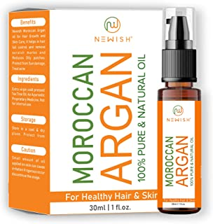 Newish® Moroccan Argan Oil for Hair and Face 30ml