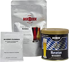Mr. Beer Bavarian Weissbier Deluxe Home Brewing Beer Refill Kit