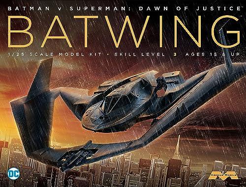 alta calidad Moebius 1  25batplane 25batplane 25batplane de Batman Vs Superman Modelo Kit mmk969  envío rápido en todo el mundo