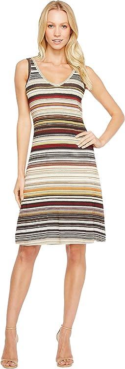 Karen Kane - Zigzag Stripe Brigitte Dress