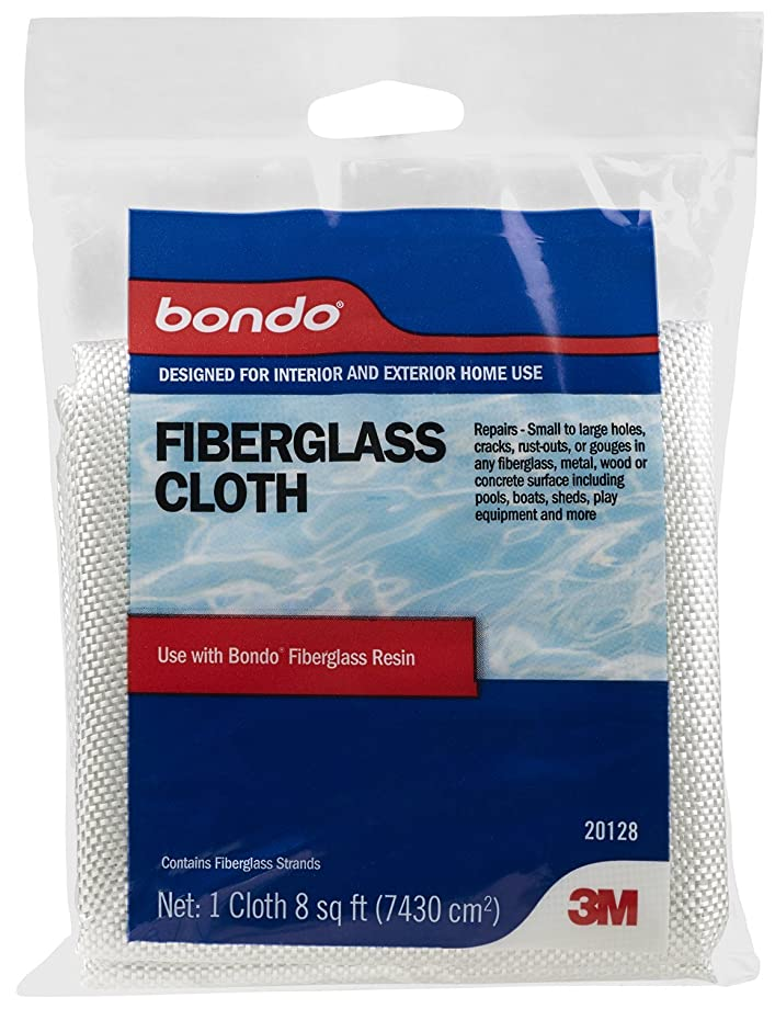 Bondo 20128 Fiberglass Cloth - 8 sq. ft.