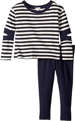 Splendid Littles - Stripe Cut Out Set (Toddler)