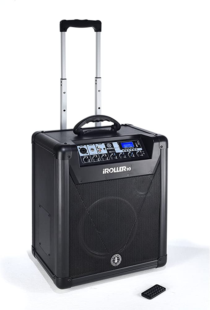 Ant iroller10 sistema audio professionale pa all in one, portatile a batteria 150103001