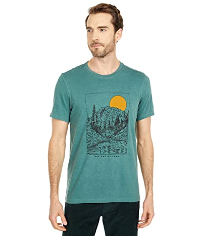 Toad&Co Get Out Of Town Short Sleeve Tee (Mallard Vintage Wash) Men