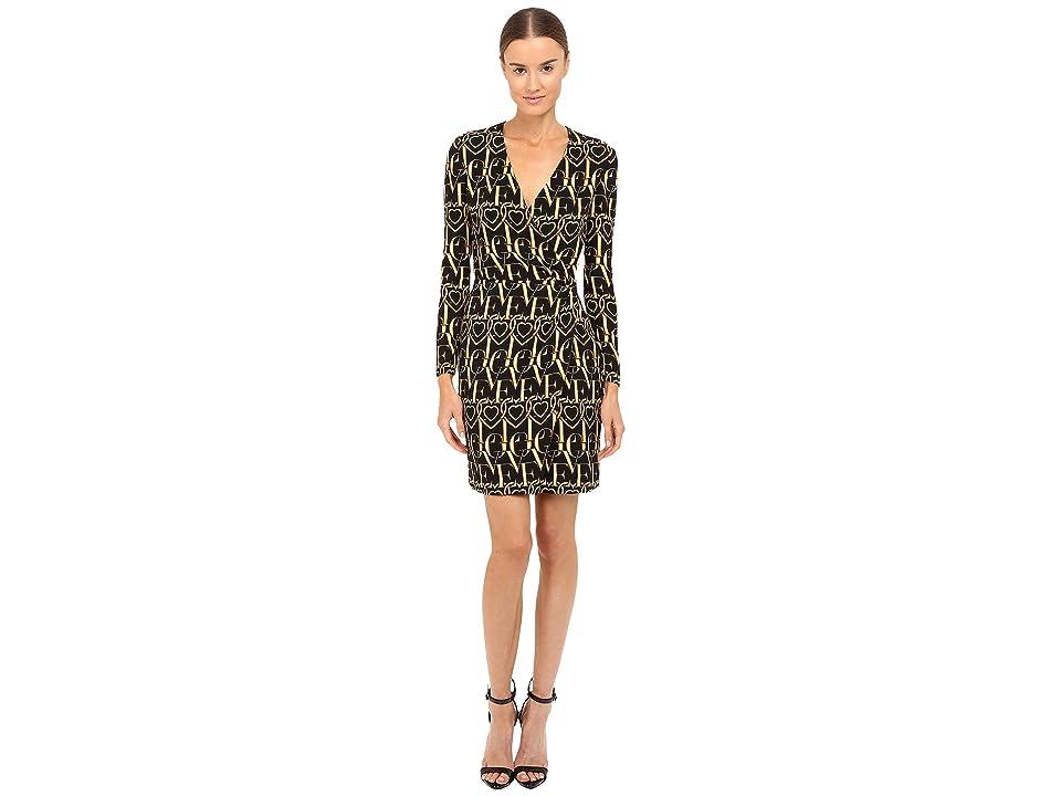 LOVE Moschino Love Dress (Black/Gold) Women