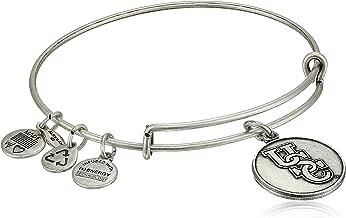 Alex and Ani Collegiate USC Logo Expandable Rafaelian Gold-Tone Wire Bangle Bracelet