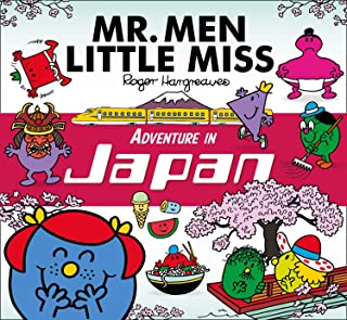 Mr. Men Little Miss Adventure in Japan