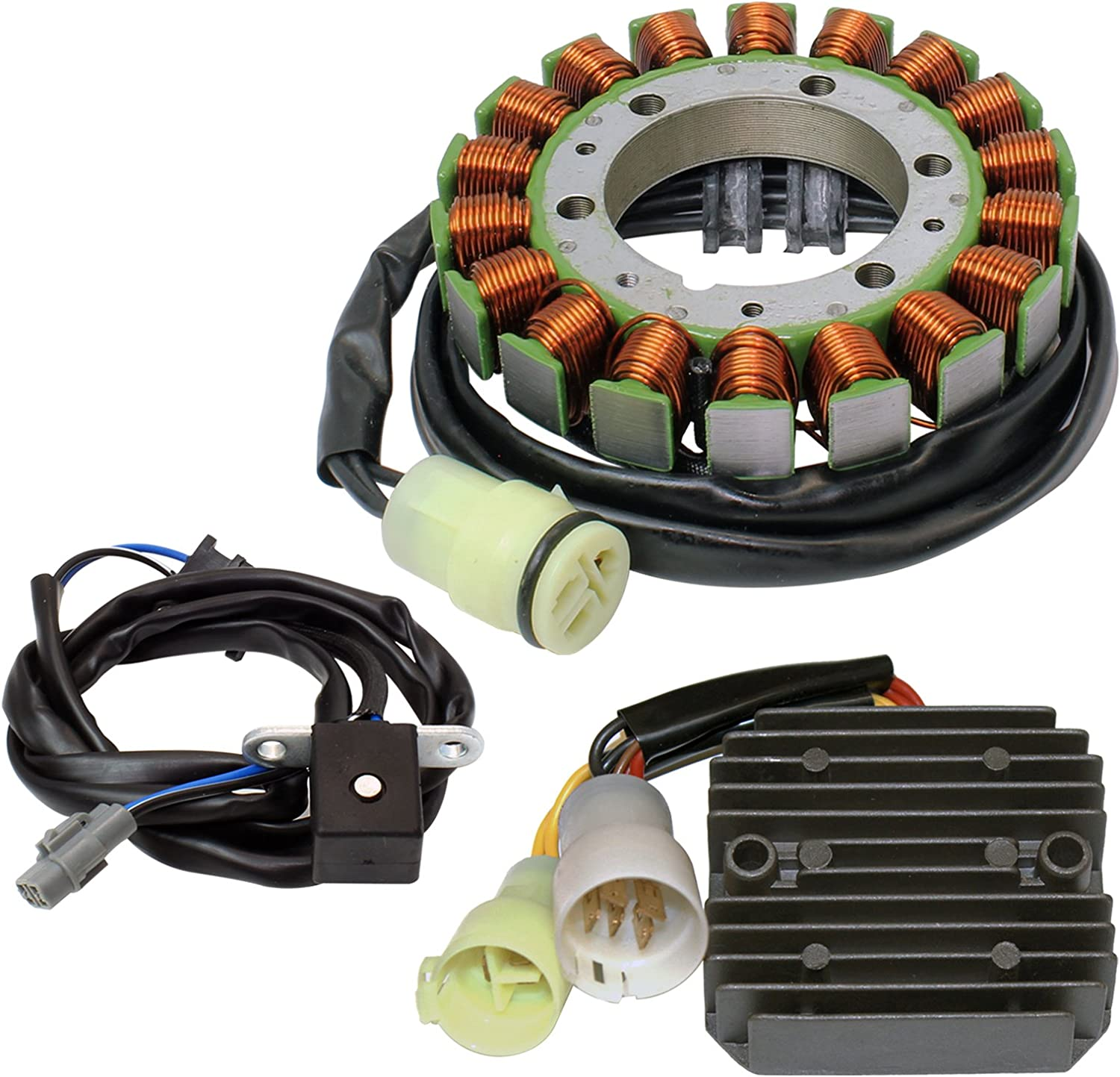 Caltric Stator Regulator Recommended Today's only Rectifier Pr with Kawasaki Compatible