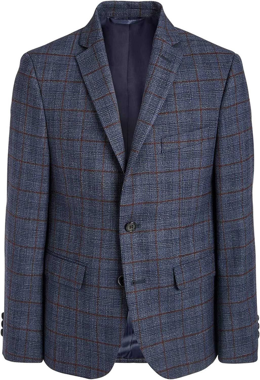 Ralph Lauren Polo Boys Classic Fit Stretch Plaid Sport Coat Blazer