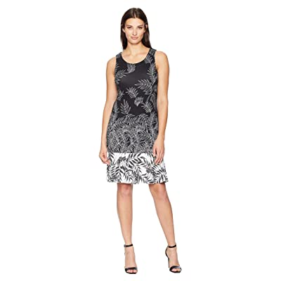 Tommy Bahama Fronds Have More Fun Dress (Black) Women