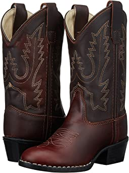 Old West Kids Boots Round Toe Western Boot (Toddler/Little Kid)
