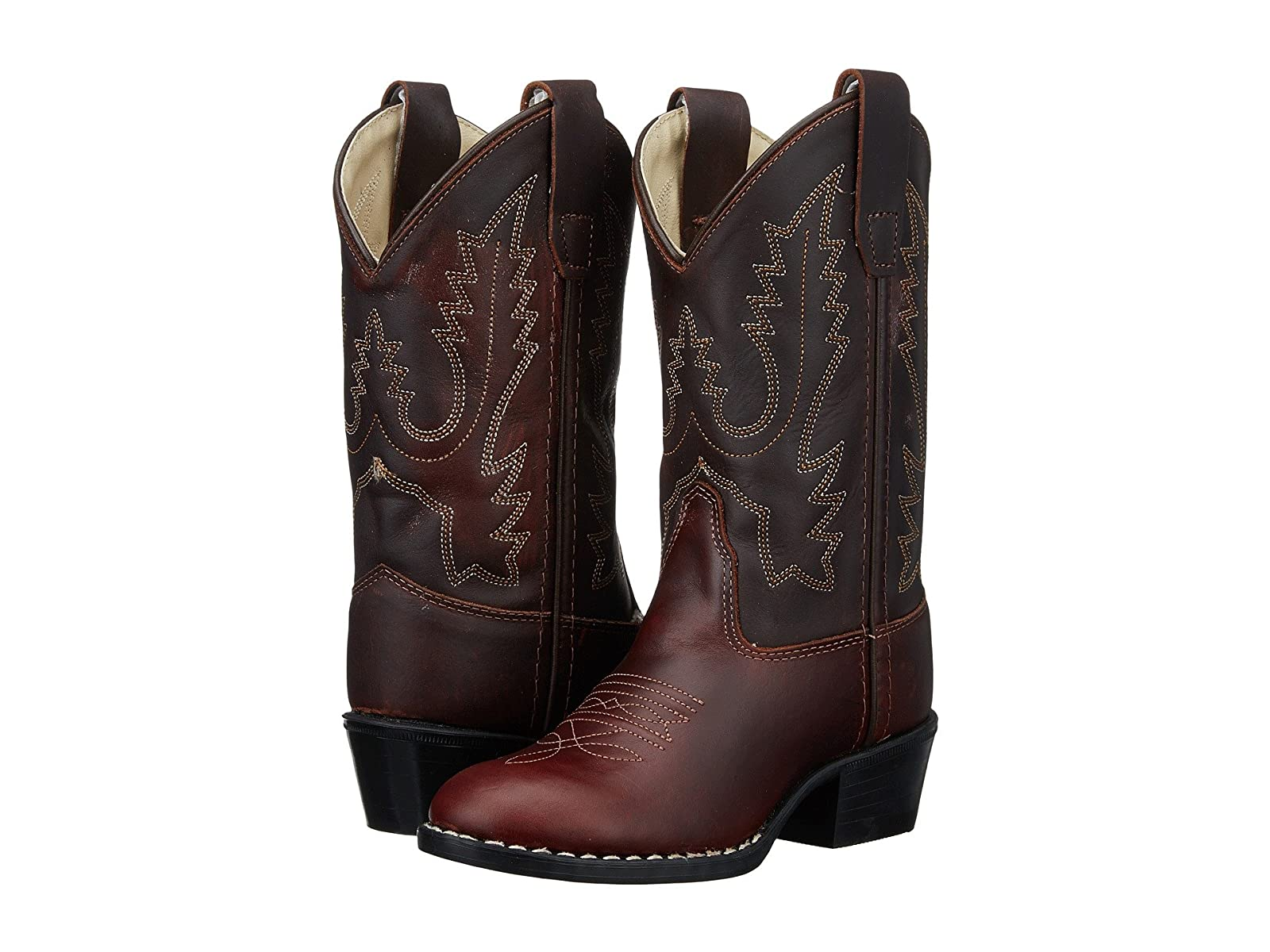 Old West Kids Boots Round Toe Western Boot (Toddler/Little Kid)Economical and quality shoes