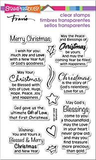 STAMPENDOUS Clear Stamps STAMPND Bless CMAS