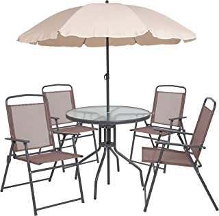 small patio sets with umbrella