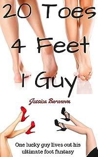 20 Toes, 4 Feet, 1 Guy: A Kinky FFM Foot Fetish Erotic Story