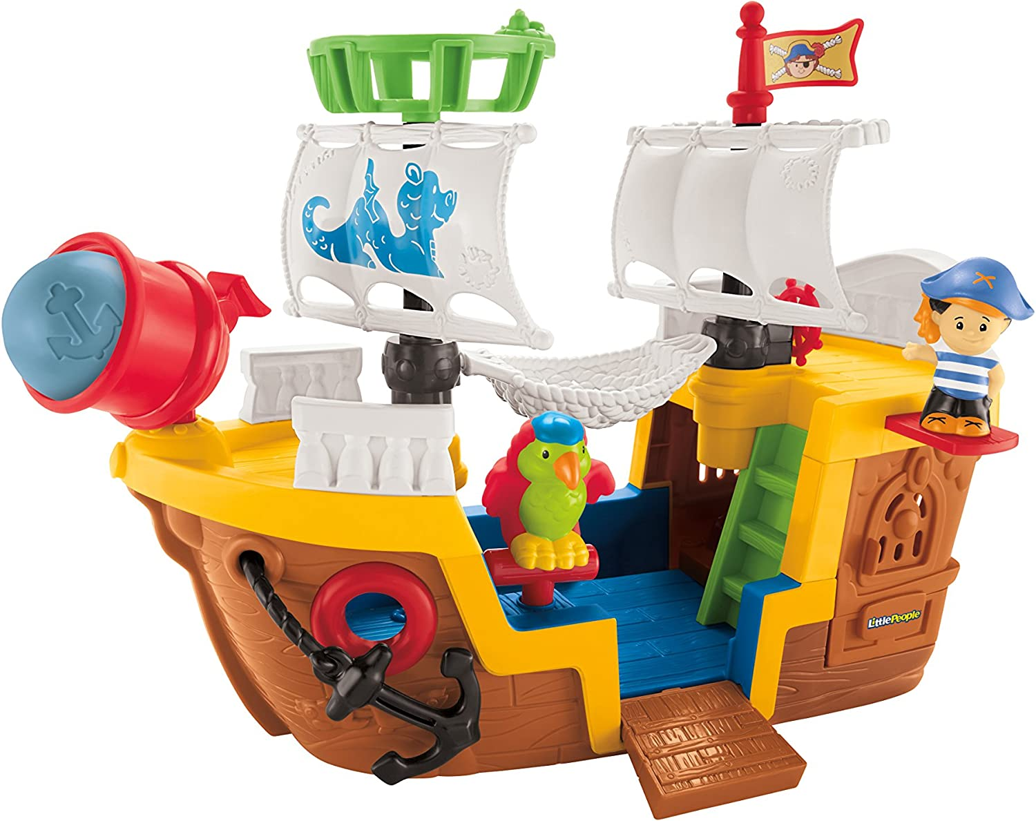FisherPrice Little People Pirate Ship