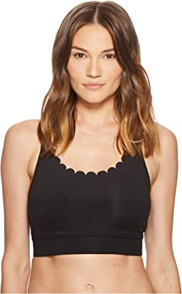 Kate Spade New York Athleisure Scallop Sports Bra