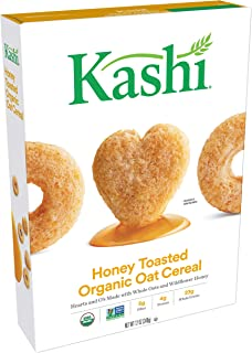 Kashi Organic Honey Toasted Oat Cereal - Non-GMO Project Verified, 12 Oz Box