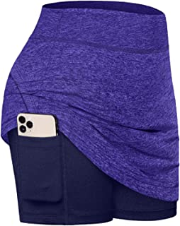 Fulbelle Casual Skirts for Women, Teen Girls Summer Athletic Tennis Skirt Golf Skorts with Pockets Workout Running Sport I...
