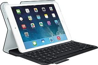 Logitech Ultrathin Folio Bluetooth Keyboard for iPad Mini (Not for iPad Mini-4 - Will NOT Fit) - Bulk Packaging - Carbon Black