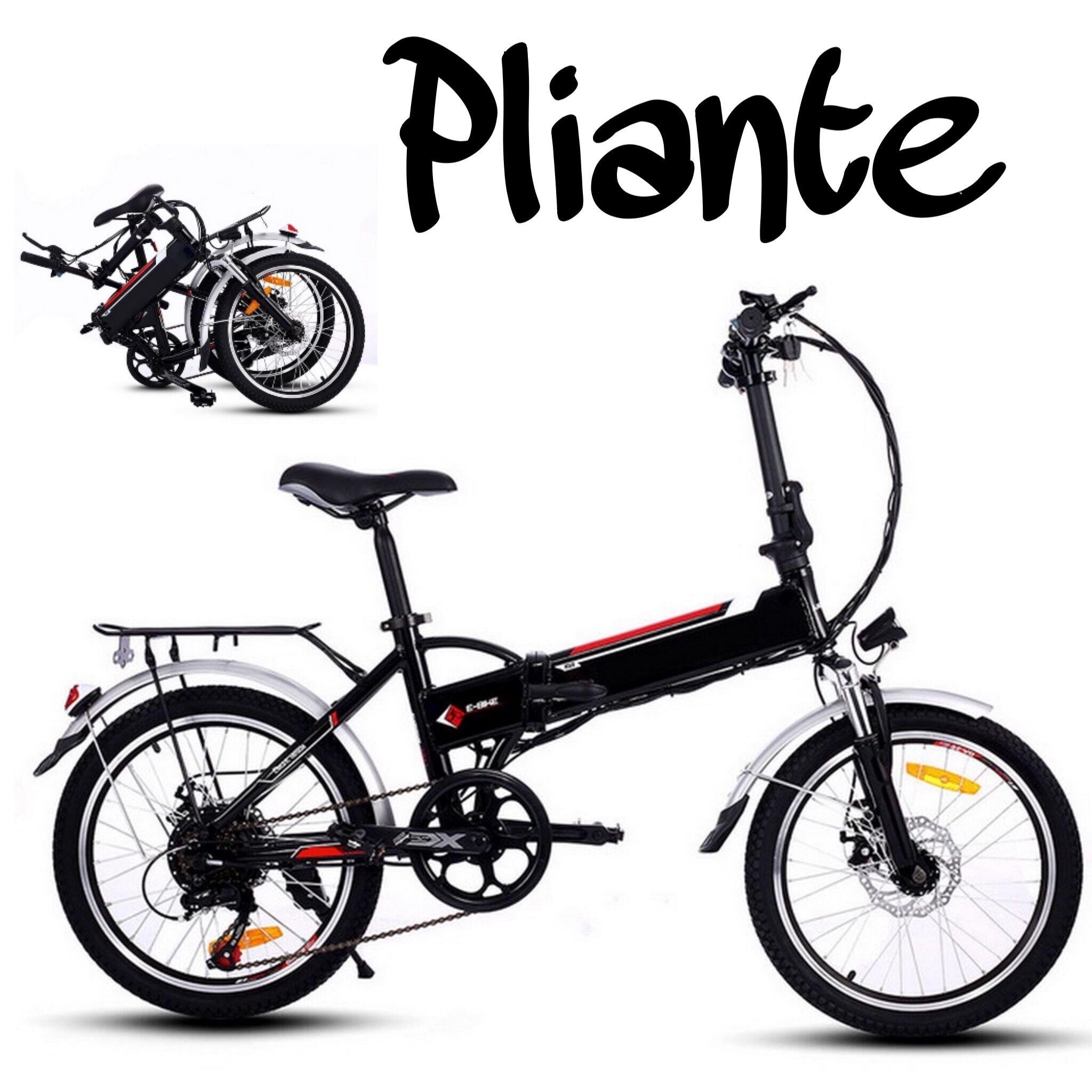 Befied Bicicleta Eléctrica de Montaña Bicicleta Plegable 20 inch ...