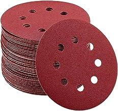 Schuren Ronde Schijven Vel 5 Inch 8 Gaten Klittenband Schuurpapier 100 Stuks 180/240/320 Grutten Voor Excentrische Schuurm...