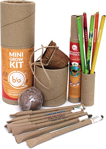 bioQ Eco Friendly Plantable Rakhi Set Containing Seeds Orange Sun : Grow Kit with Coco Pot Planter and Coco Peat and ...