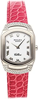 Cellini Quartz (Battery) White Dial Womens Watch 6692/9 (Certified Pre-Owned)
