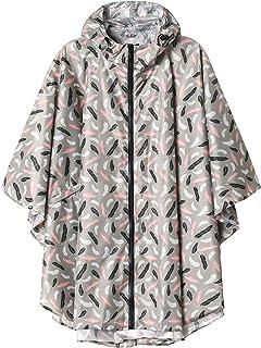 LINENLUX Men's Rain Jacket Hooded Outdoor Coat with Pocket