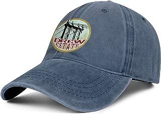 Bombline Mens Womens Drew-Estate-Logo- Adjustable Retro Summer Hats Baseball Washed Dad Hat Cap