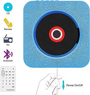Lecteur CD,VIFLYKOO Lecteur de Musique Portable à Fixation Murale avec Haut-Parleur HiFi..