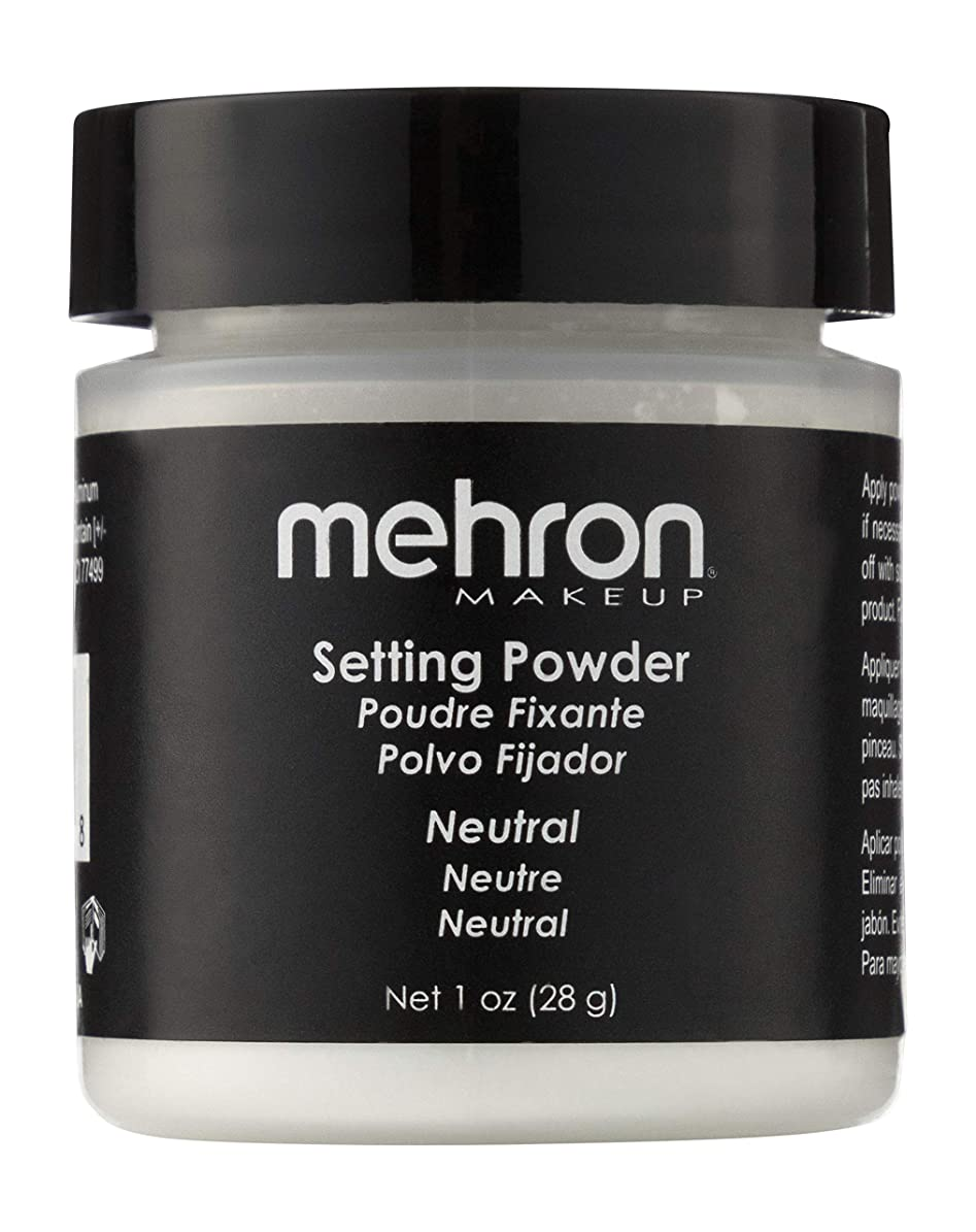 ホステル賞日記mehron UltraFine Setting Powder with Anti Perspriant Neutral (並行輸入品)