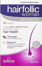 Vitabiotics Hairfollic Woman Advanced Capsules, 60-Count
