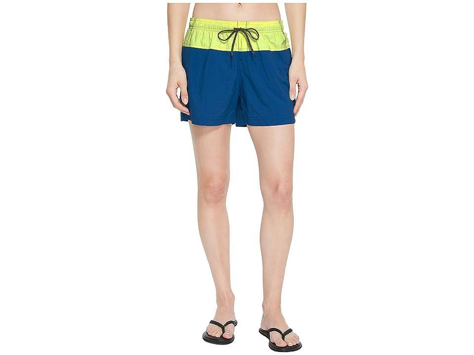 Columbia Sandy Rivertm Color Blocked Shorts (Jewel/Neon Light/Mineshaft) Women