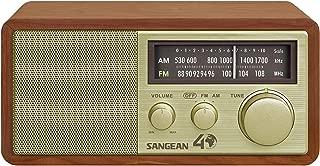 Sangean WR-11SE AM/FM Table Top Radio 40th Anniversary Edition (Renewed)