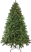 Northlight 7.5' Pre-Lit Medium Mixed Scotch Pine Artificial Christmas Tree - Clear Lights