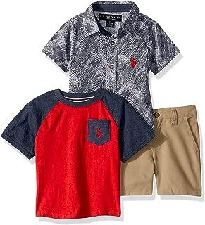 U.S. Polo Assn. Boys Sleeve, T-Shirt and Short Set