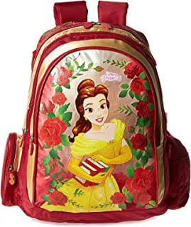 Disney Beauty And The Beast School Backpack for Girls - Red