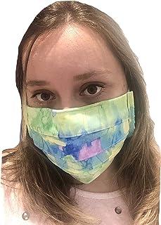 Mascarilla protectora para la boca reutilizable 100% algodón con plástico protector