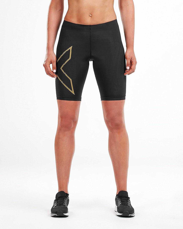 2020 2XU Women/'s MCS Run Compression Shorts