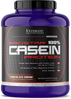 Ultimate Nutrition Hydrolyzed and Micellar Casein Anti Catabolic Protein Powder - 2 In 1 Rapid and Slow Digestion Formula, 5 Pounds, Chocolate