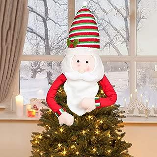 Best santa tree hugger topper Reviews