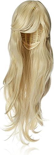 "YOPO 28"" Wig Long Big Wavy Hair Women Cosplay Party Costume Wig(Light Blonde)"