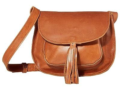 ABLE Maria Tassel Crossbody (Whiskey) Shoulder Handbags
