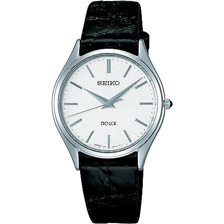 [セイコーウォッチ] 腕時計 ドルチェ クオーツ サファイアガラス 内面無反射コーティング SACM171 ブラック