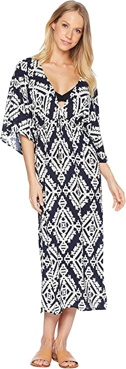 Tapestry Geo Dress Cover-Up