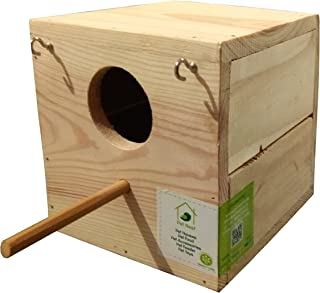 PetNest Budgies and Finches Breeding Wooden Nest Box