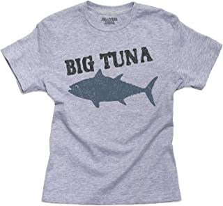Trendy Big Tuna Graphic Perfect for Office Youth Size T-Shirt